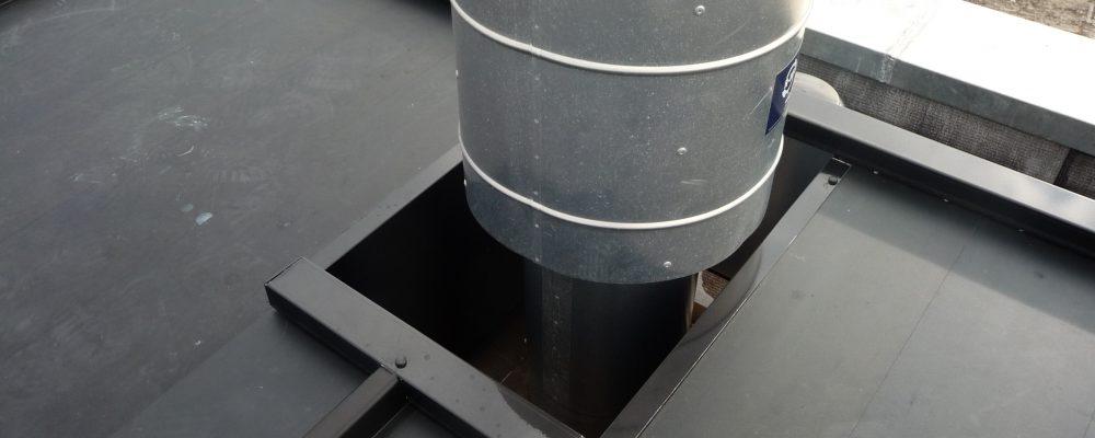 PVT-paneel-Triple-Solar-Dak-afvoer-schoorsteen