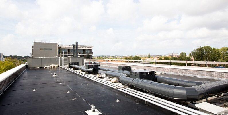 PVT-paneel-zonnepaneel-warmtepomp-warmtepomppaneel-Triple Solar Slachthuisbuurt Haarlem 700 m2