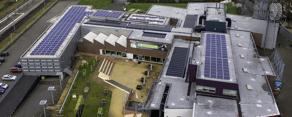 Regeneration-ATES-installations-PVT-panel-Triple-Solar-solar panel-Museum Continium 430 m2 + PV