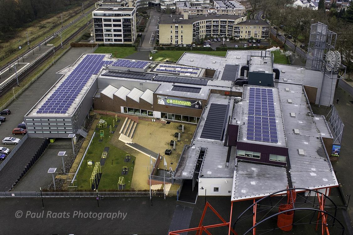 Regeneratie-WKO-installaties-PVT-paneel-Triple-Solar-zonnepaneel-Museum Continium 430 m2 + PV