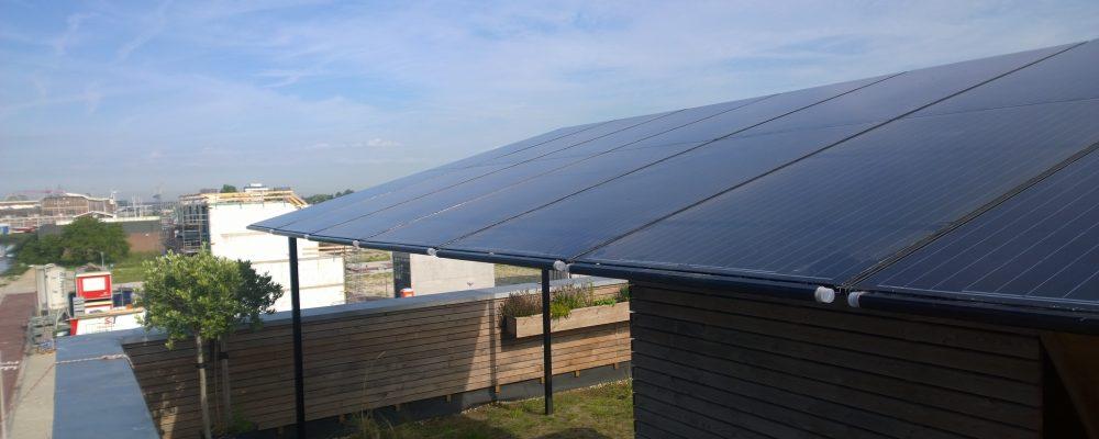 Studio home Buiksloterham energy efficient with Triple Solar PVT heatpump panels 1
