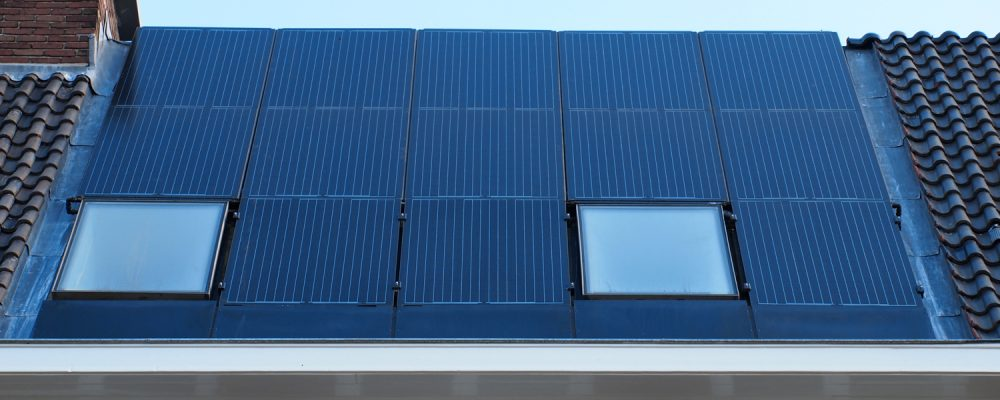 Triple Solar PVT panel heat pump PVT panels sloping roof instead of roof tiles 01 BIPV roof window