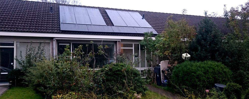 Triple Solar PVT Wärmepumpen Kollektor haus 01