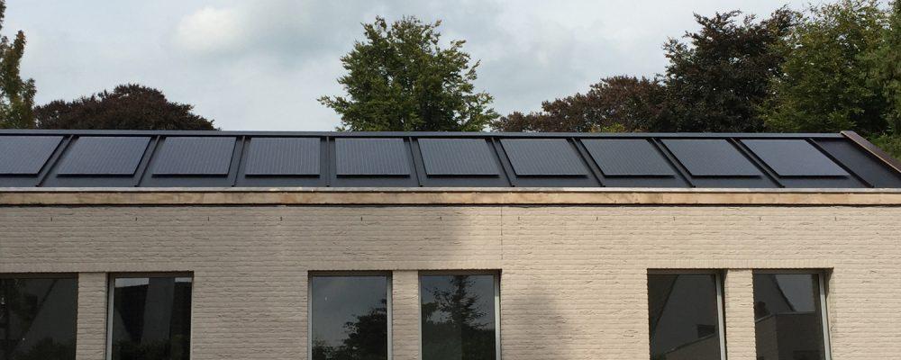 Triple Solar PVT warmtepomp paneel Zeegers vooraanzicht