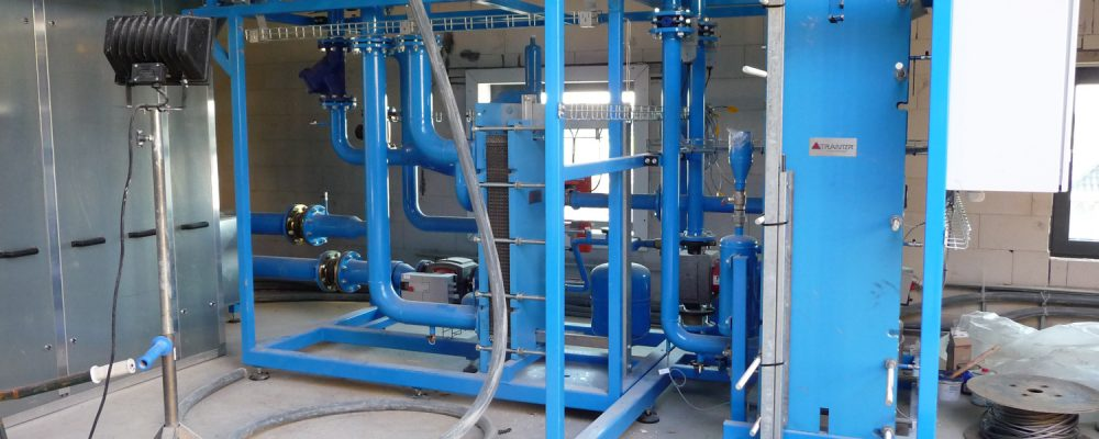 Warmtepomp-WKO-zonnepaneel-installatie-Bloesemgaerde SKID Geotherm
