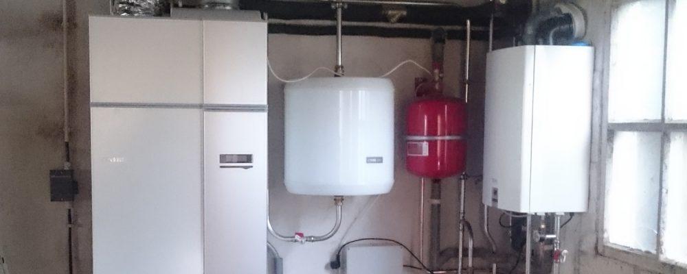 Triple Solar PVT warmtepomp paneel Installatie Nibe Bergen