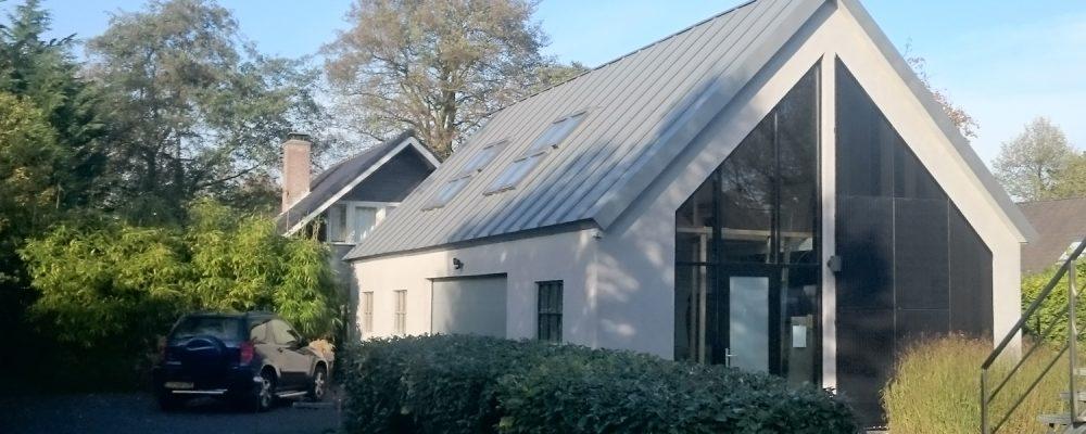 Dreifache Solar PVT Fassade - Solaranlage-Wärmepumpe Kollektor Nibe Bergen