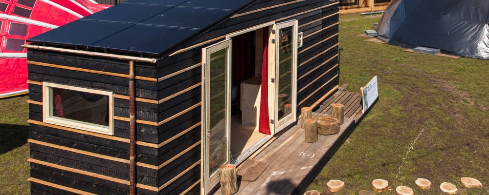 Tiny Tim, the autarkic tiny house with PVT heat pump panel 8