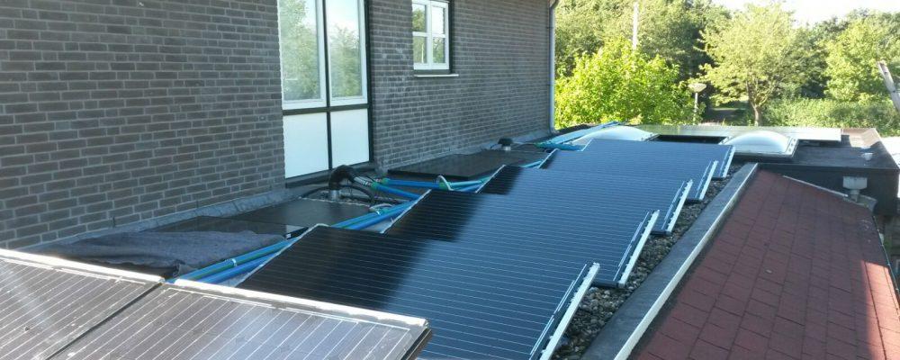Triple Solar Vooraanzicht PVT panelen
