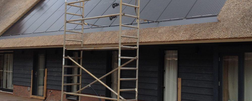 PVT warmtepomp paneel Triple Solar rieten dak Bentveld 3
