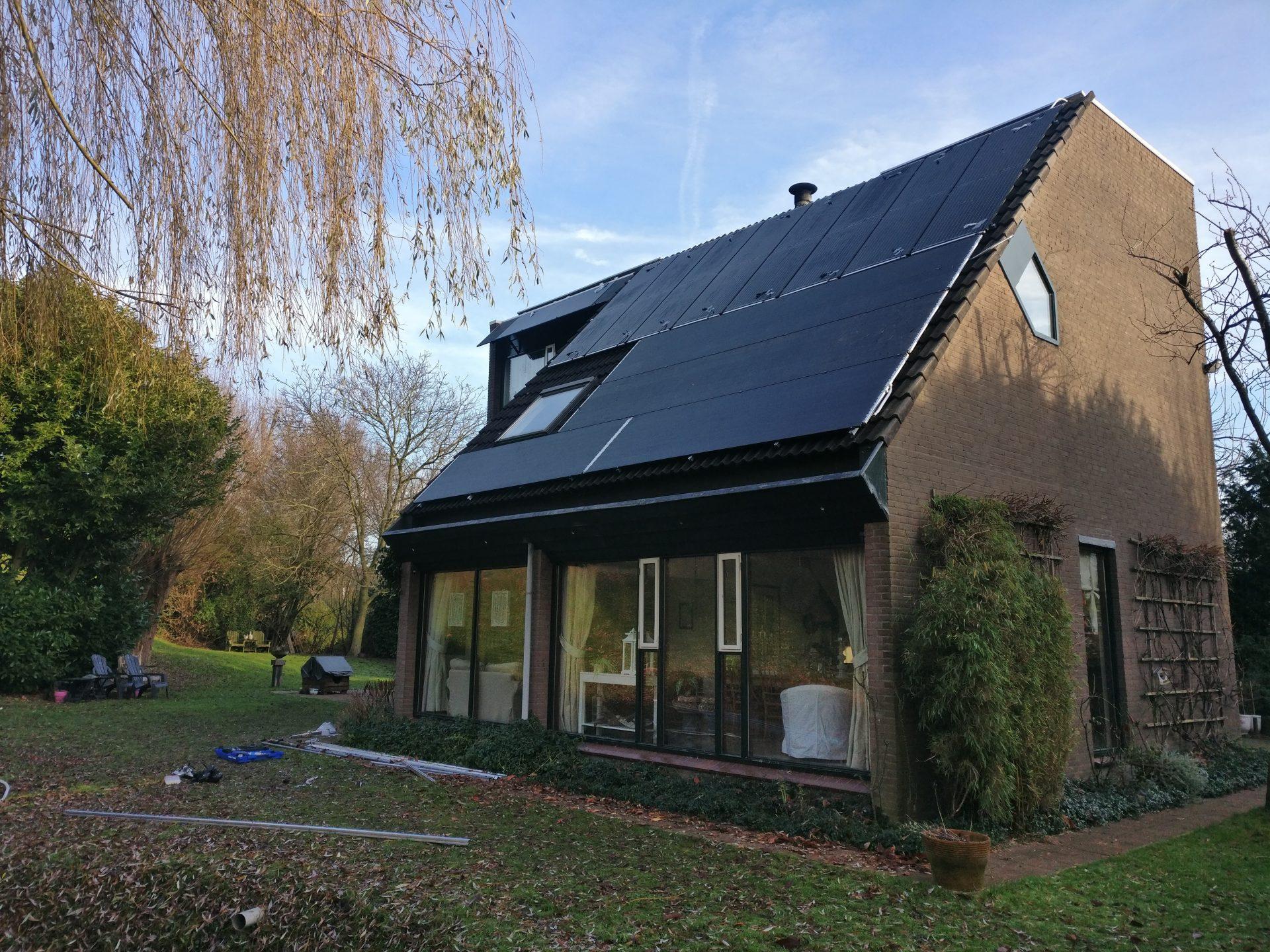 PVT paneel Triple Solar huis Van der Weide
