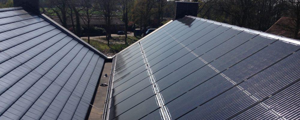 Triple Solar PVT warmtepomp paneel Erve Mensman Geesteren 2