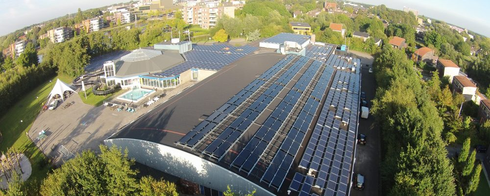 Triple Solar-pool-heating-PVT-heat pump-panel-de-welle-drachten-01
