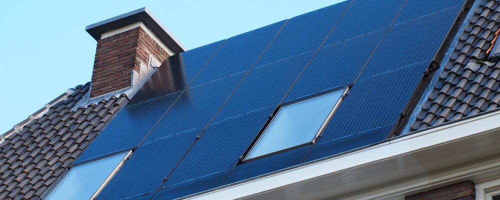 Triple Solar PVT paneel Olympiakade-straatzijde-schuin-01