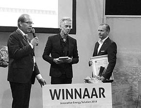 Triple Solar Winnaar Innovative Energy Solution 2018