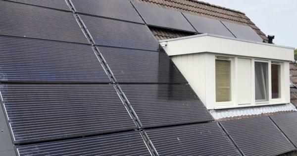Triple Solar PVT zonnepaneel warmtepomp paneel - Monnickendam - dak