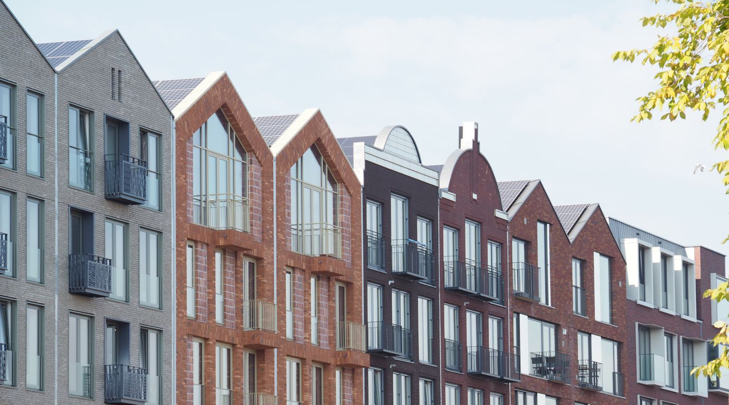triple solar 11 off the grid apartments in Amsterdam bilderdijkkade