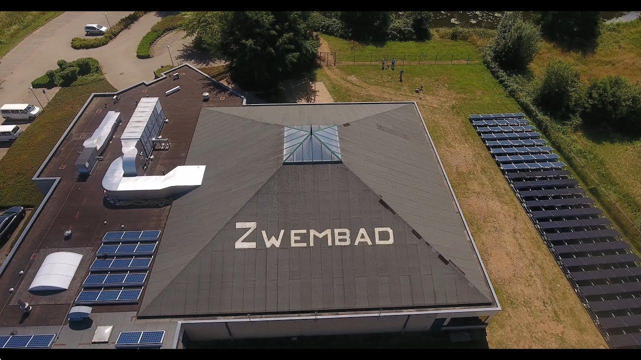 Triple Solar PVT zonnepanelen voor zwembad - doesburg