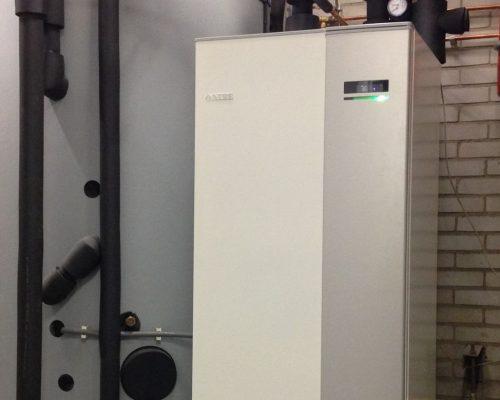 NIBE warmtepomp met PVT zonnepanelen woonstad rotterdam 2