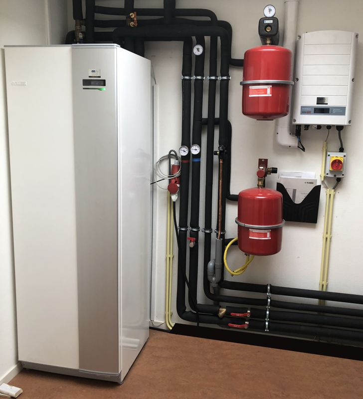 Monnickendam - technical Heat Pump installation
