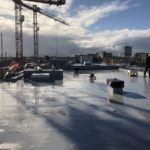 PVT warmtepomp zonnepanelen op het dak in Delft