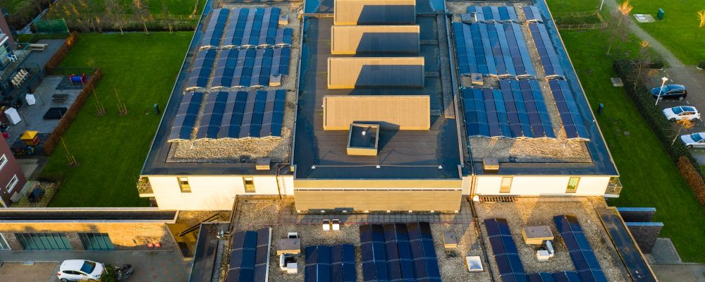 ATES regeneration housing care real estate Triple Solar heatpump solar panel