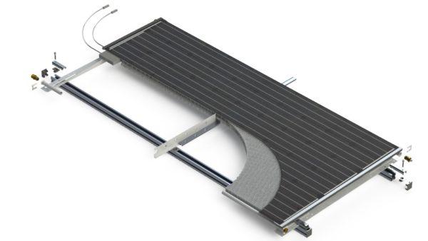 PVT paneel Triple Solar warmtepomppaneel PVT zonnepaneel exploded view