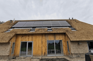house with PVT solar panels heatpump heat recovery system-03