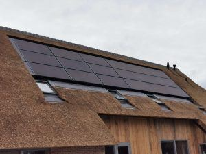 house with PVT solar panels heatpump heat recovery system-02