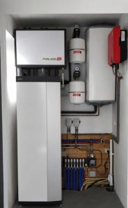 Wohnung ohne Gas mit Triple Solar PVT-Kollektoren und Erdwärmepumpe 4