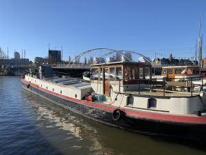 Woonschip Levantkade Amsterdam