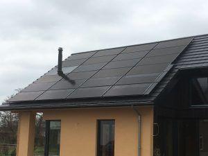 PVT-panelen-Triple-Solar-Dak-moderne-woning-Ommen-Tijhaar-drone-video-schuindak-003