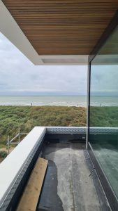 Duurzame Villa aan het strand in Noordwijk met zeezicht