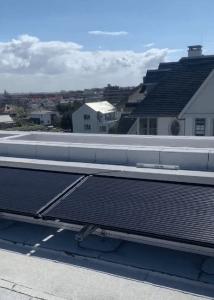 PVT-panelen op het dak in Noordwijk